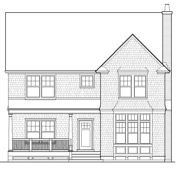 Drawing Exterior Elevations