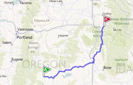 Christmas Valley to Alaska and Back: