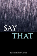 Book Cover - Say That
