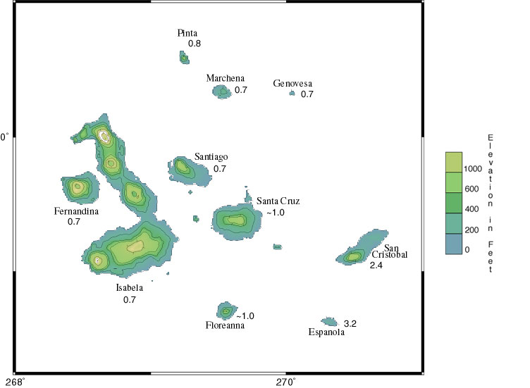 CPM Presentation Printable View - Map where is the galapagos islands relative to the us