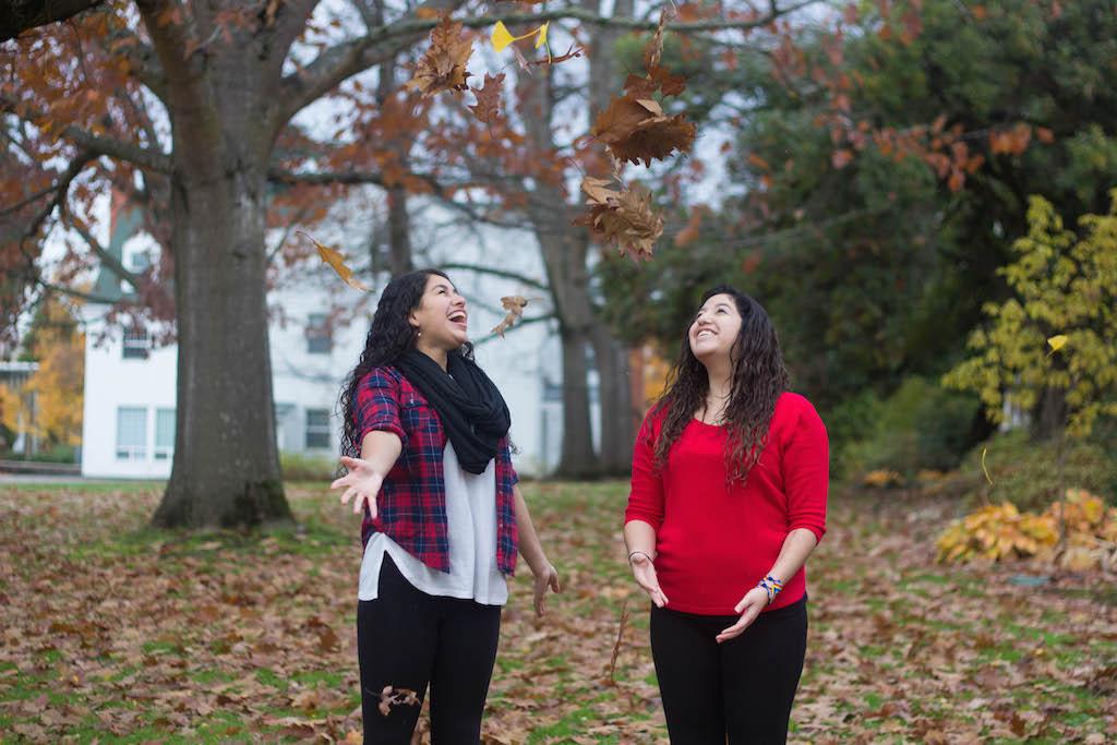 Leah Barrera and Jackie Ochoa