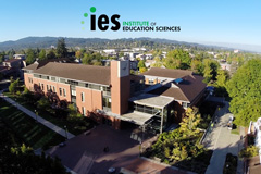 Aerial view of HEDCO Education with IES logo