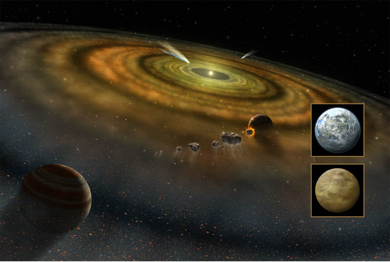 protoplanet hypothesis definition