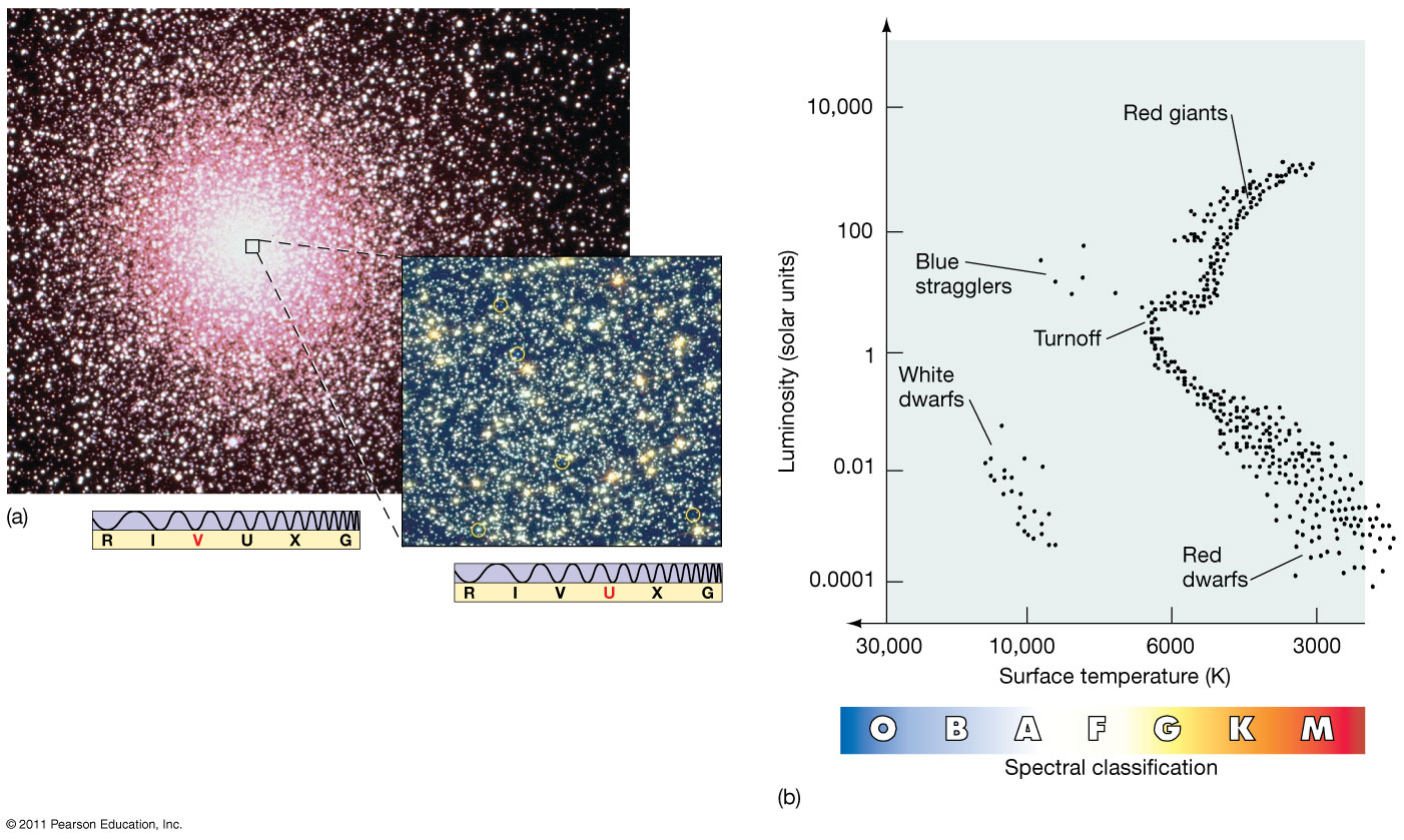 Astronomy 122 stellar evolution 47 tucanae cluster h r diagram ccuart Image collections