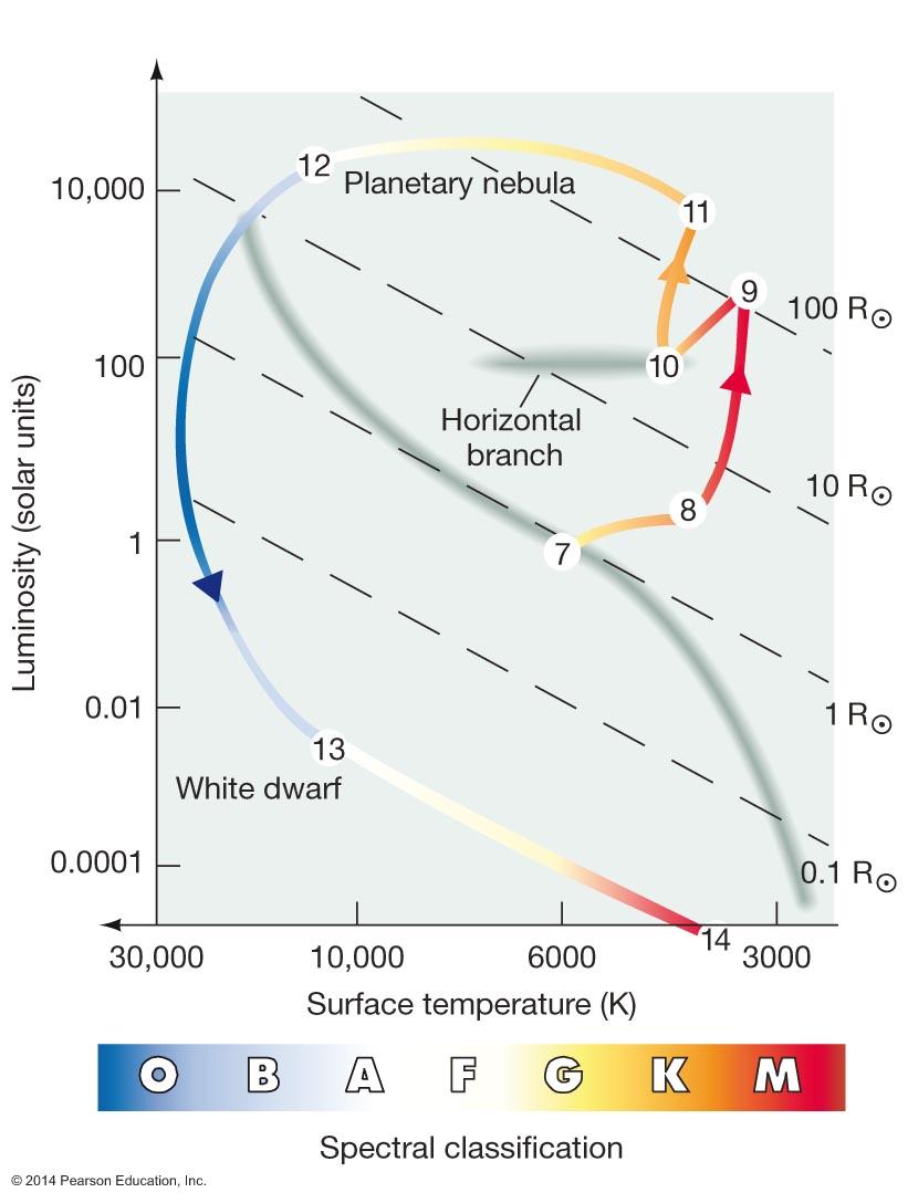 Astronomy 122 - Stellar Evolution