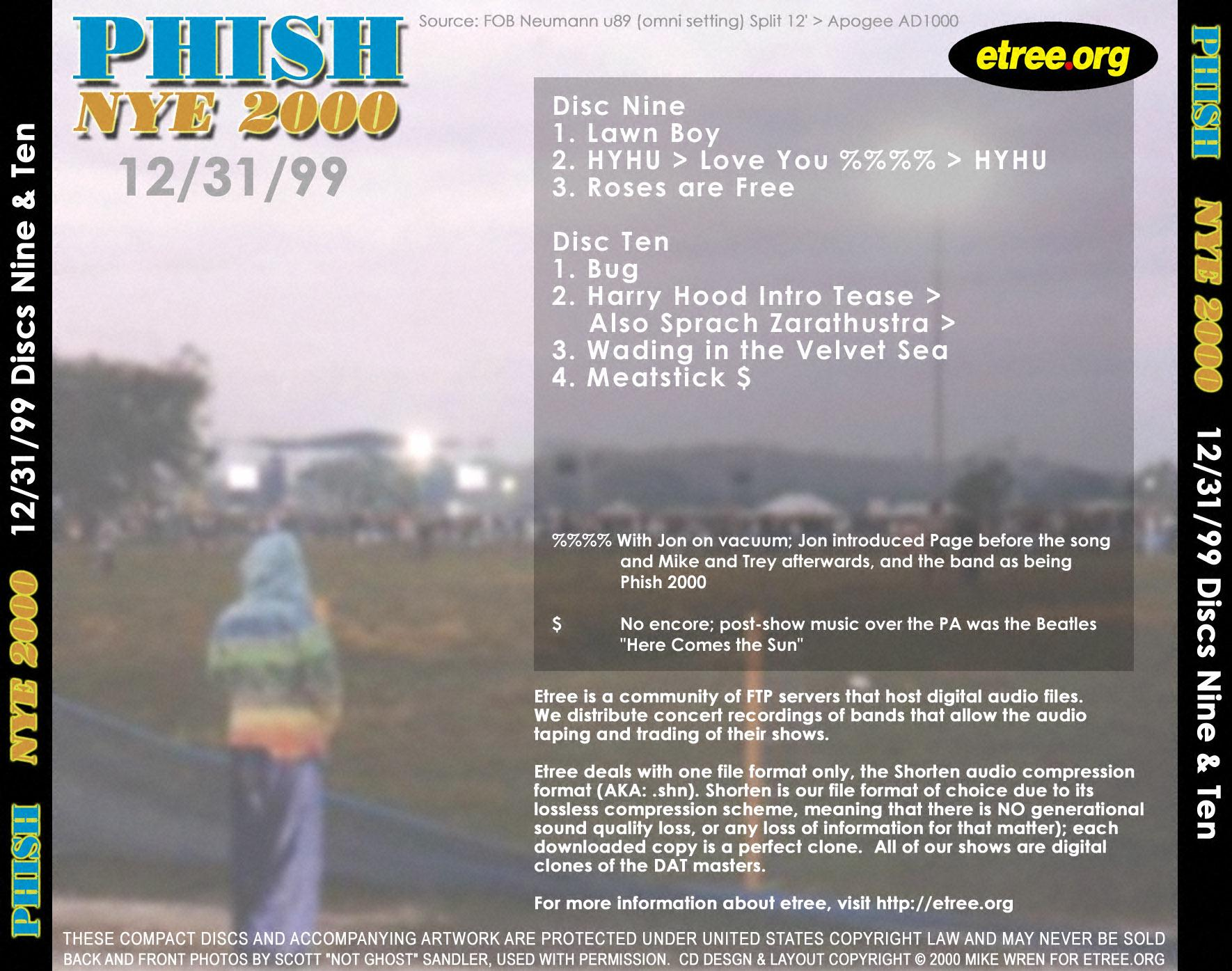 Index of /~jlund/covers/MISC CD COVERS/Phish 12-31-99