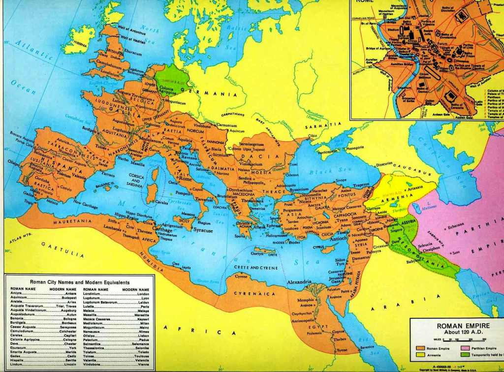 Free map of the roman empire coloring pages