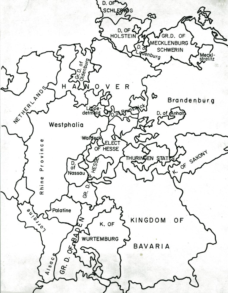 european revolutions Map of Europe After WWI