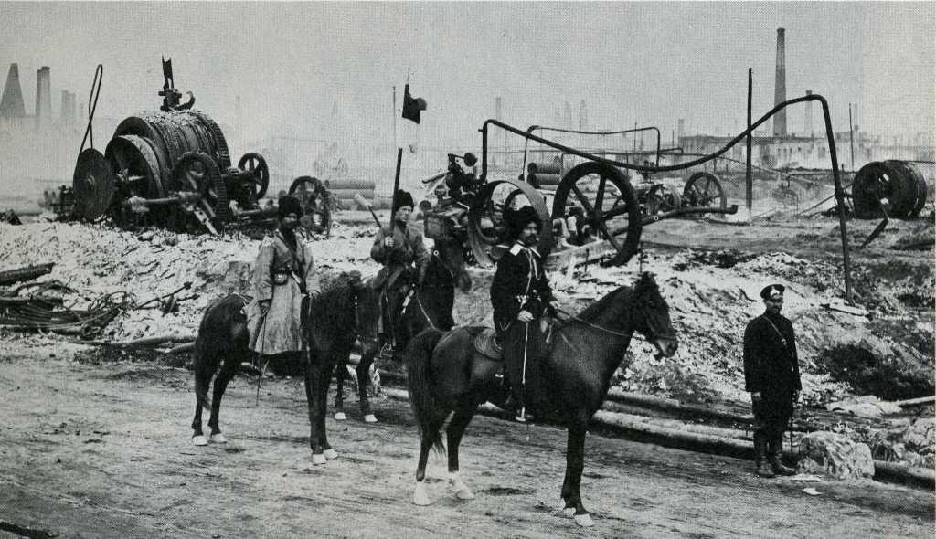 Russian Duma 1905 1905Baku oil fields patrolled