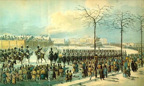 an overview of the infamous decembrists revolt of 1825 Most of the decembrists, for  together as one nameable group by nicholas i's infamous personal police  that since the decembrist revolt in 1825.