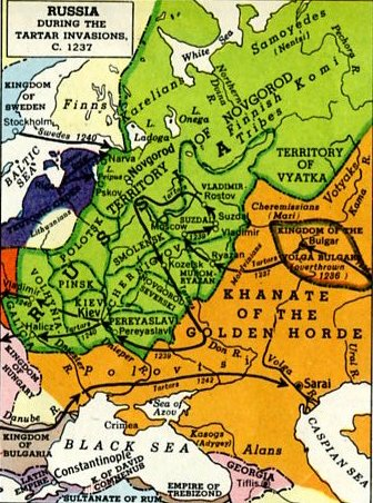 the consequences of the mongol invasion on kievan russia