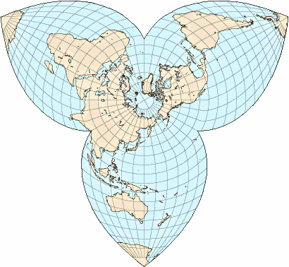 polar map projection