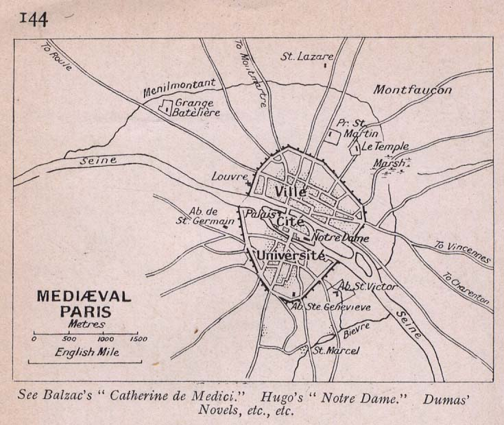 Map Of France 900 Ad.Map Of Paris France 900 Ad Twitterleesclub