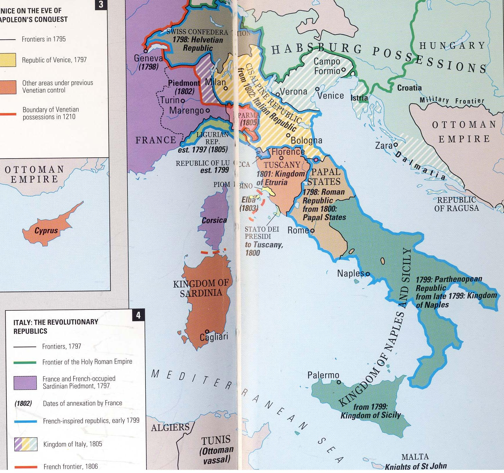 Italy extent and boundaries in dating