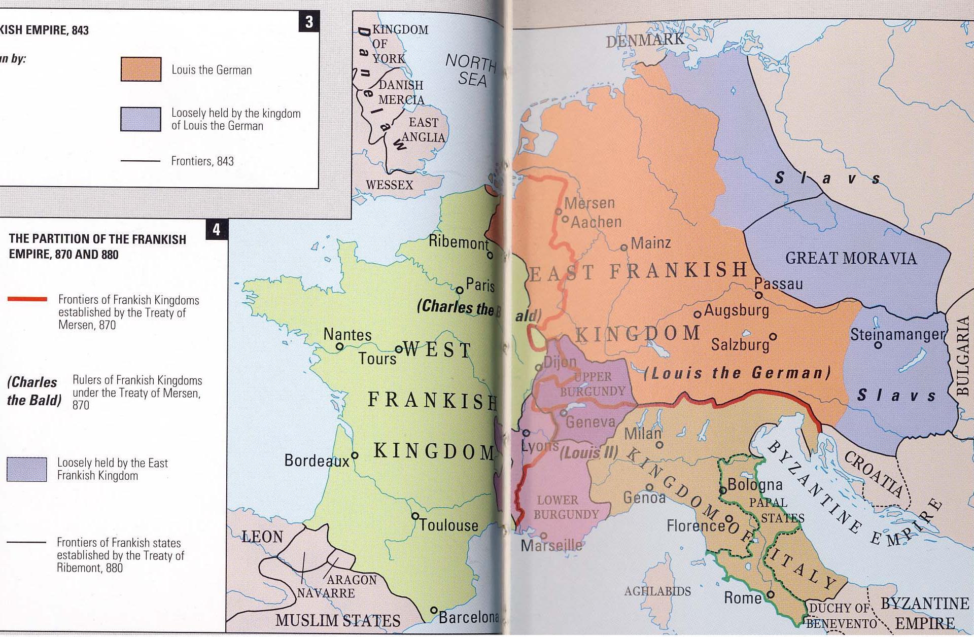 treaty of mersen