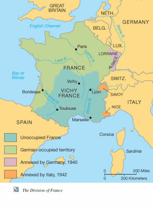 History 303 europe in the twentieth century france during the second world war gumiabroncs Gallery