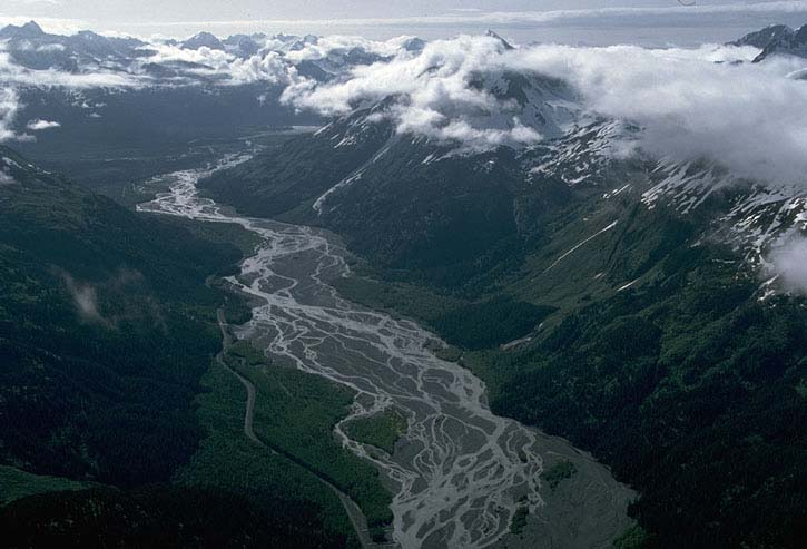 Resurrection River, Kenai Peninsula, Alaska