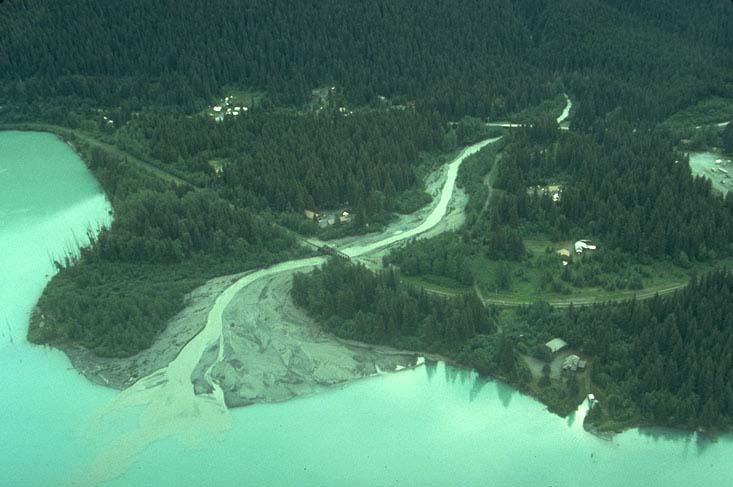 River mouth landform should teach