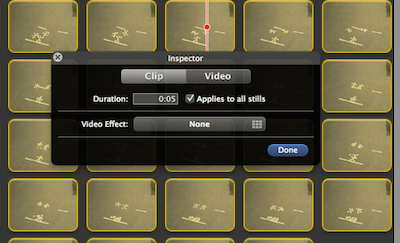 how to make stop motion on imovie