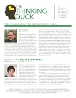 Thinking Duck, Spring 2013 Issue